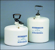 Eagle Type I Poly Safety Can WHITE 5 Gallon