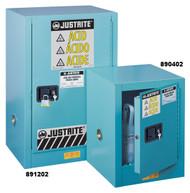 Justrite Corrosive Safety Cabinet- 4 gallon Manual Door