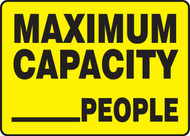 Maximum Capacity ___ People