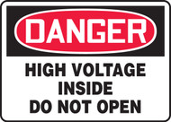 Danger - High Voltage Inside Do Not Open