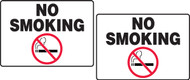 No Smoking Tabletop Sign
