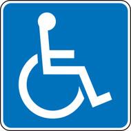 New York & Texas Handicap Graphic Sign