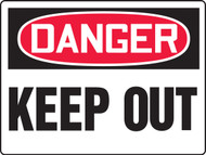 Danger Keep Out Big Safety Sign MADM121