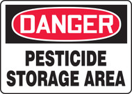 Danger - Pesticide Storage Area