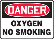 Danger - Oxygen No Smoking