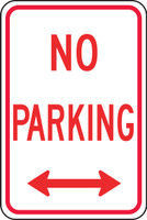 No Parking Sign 1