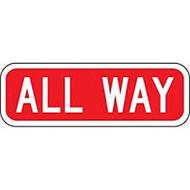 "All Way- 6"" X 18"""