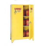 Eagle 60 Gallon Flammable Storage Cabinet with Legs 1