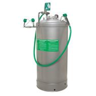Haws 7601.37 Portable Pressurized Eyewash- 37 Gallon w/ Body Spray- Air Pressure Operated