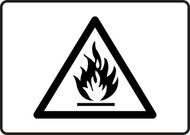 MCHL503vs flammable graphic sign
