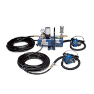 Allegro 9215-02 Two-Worker SAR Half Mask System, 100'  Hose