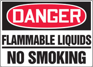 Danger - Flammable Liquids No Smoking
