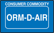 ORM-D-AIR/ ORM Shipping Label