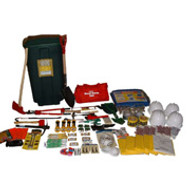 Search and Rescue Kit- 4 Person Professional Rescue Kit in 45 Gallon Container