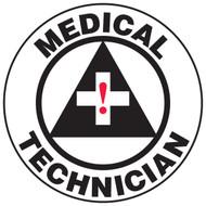 Medical Technician Hard Hat Helmet Decal