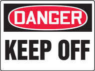 MEQM194 Danger Keep Off Big Safety Sign
