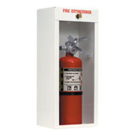 Fire Extinguisher Cabinet- Metal Surface Mount - With Lock