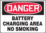 Danger - Battery Charging Area No Smoking