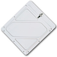"DOT Placard Holder- White .030"" Aluminum"