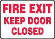 Fire Exit Keep Door Closed 1