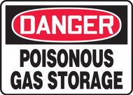 Danger - Poisonous Gas Storage