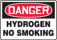 Danger - Hydrogen No Smoking