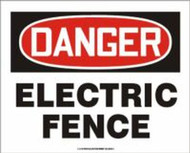 Danger- Electric Fence