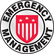 Emergency Management Emergency Response Helmet Stickers