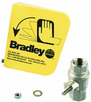 Bradley S45-122 Emergency Eyewash Parts Eyewash Valve and  Handle
