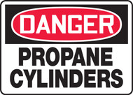 Danger - Propane Cylinders