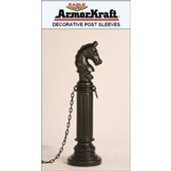 Eagle Decorative Post Sleeves- Hitching Post Style