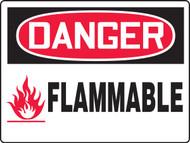 Danger Flammable Sign MCHL157VP Big Sign