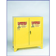 Eagle 30 Gallon Flammable Storage Cabinet with Legs 1