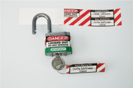 padlock and key ID label set LAK175