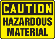 Caution - Hazardous Material