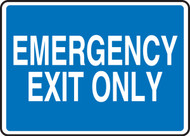 Emergency Exit Only 1