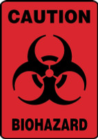 caution biohazard sign MBHZ522