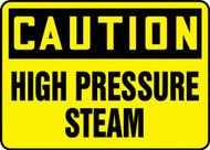 Caution - High Pressure Steam