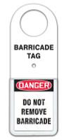 Barricade Status Alert Tag Holder