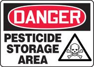 Pesticide Storage Area Sign