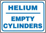 Helium Empty Cylinders - Accu-Shield - 10'' X 14''
