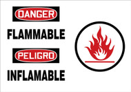Flammable (bilingual) (w/graphic)