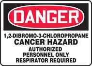 Danger - 1,2-Dibromo-3-Chloropropane Cancer Hazard Authorized