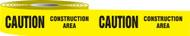 Caution Construction Area Barrier Tape