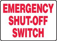 Emergency Shut-Off Switch