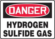 Danger - Hydrogen Sulfide Gas