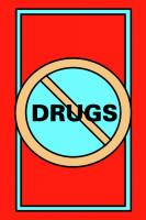Safety Message Floor Mat- No Drugs Symbol 3 ft x 5 ft