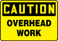 Caution - Overhead Work