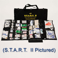 S.T.A.R.T. II 217 Piece Emergency Medical Unit-black bag