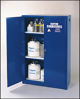 Eagle 45 Gallon 2 Door Manual  Acid- Corrosive Safety Cabinet